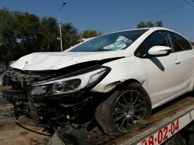 Покупка разбитого автомобиля эвакуатор